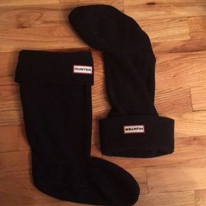 Black Hunter boot socks